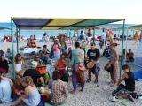 10 Джаз Коктебель - барабаны на пляже